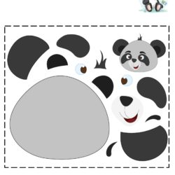 Cut and Paste Activity Fun with a Panda