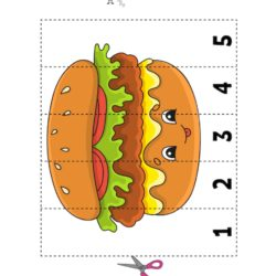 Cutting and Pasting Fun - Burger